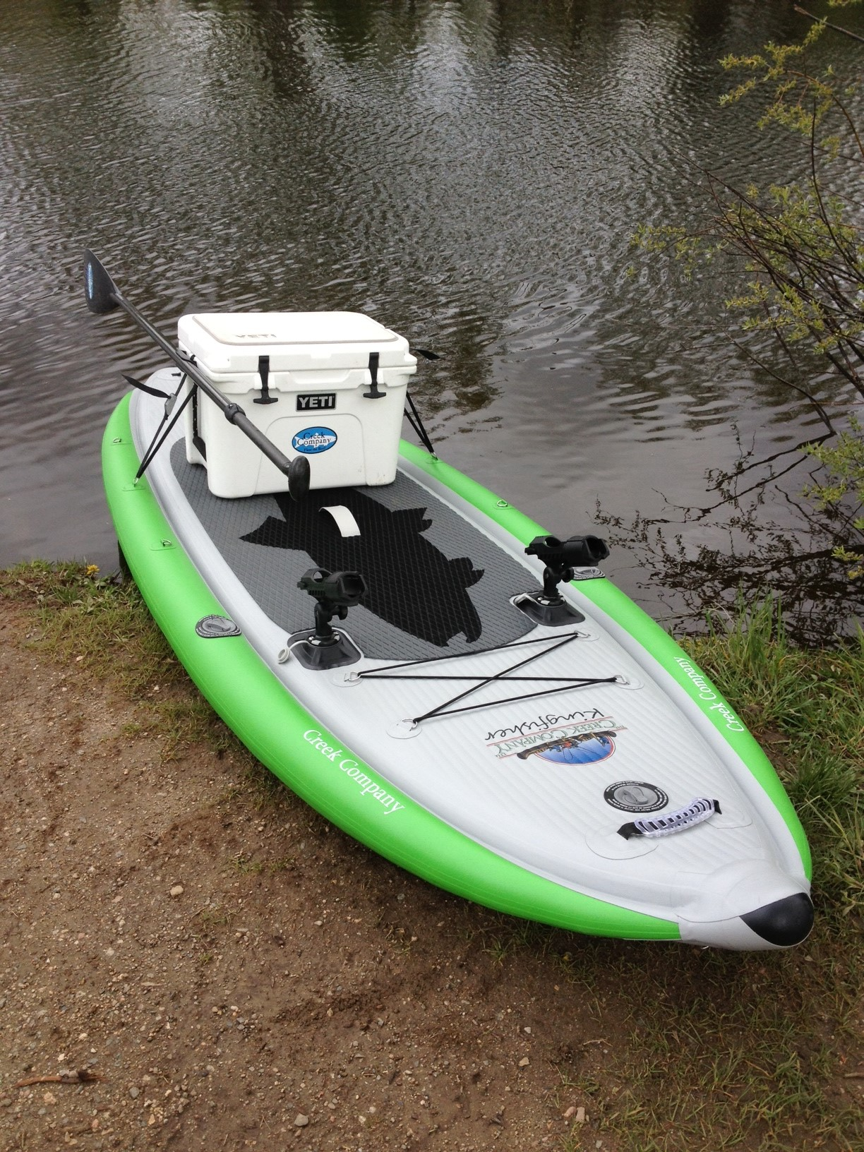 The Creek Company Stand Up Paddleboards Kingfisher