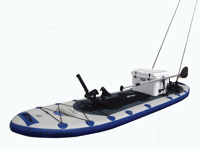The creek company stand up paddleboards osprey for Inflatable fishing sup
