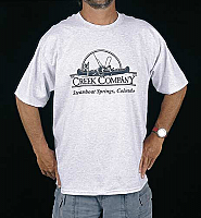#505 - Creek Company Logo T-Shirt Only $5.99!